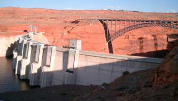 Glen Canyon Dam, Arizona / USA