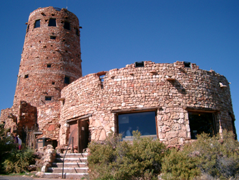 Grand Canyon National Park, Desert View Watchtower, USA